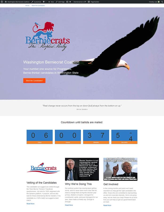 Political Cause Website