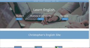 english language website