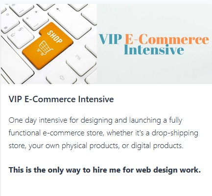 VIP E-Commerce Intensive